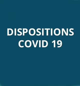 Dispositions COVID-19 – U.N.ADERE se mobilise