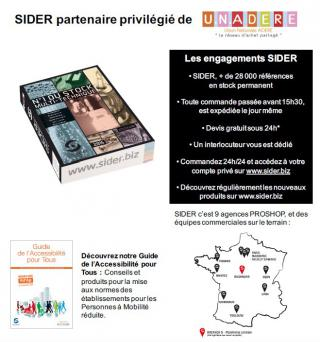 SIDER - n°1 du stock multi-technique