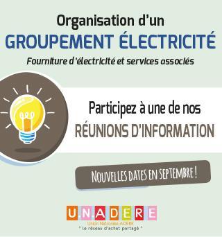 Participez à notre Groupement National Electricité
