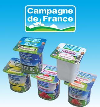 FRANCE FRAIS - Yaourts Campagne de France
