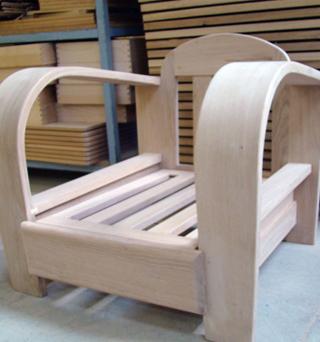 La chaîne de fabrication d'un meuble