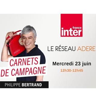 Union des ADERE sur France INTER